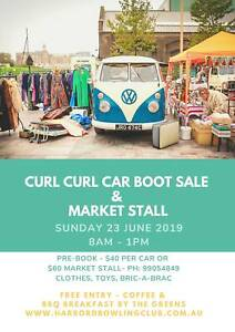 CURL CURL CAR BOOT SALE & MARKET STALL