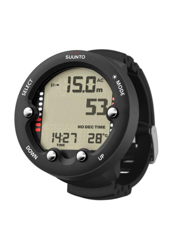 Suunto Zoop Novo Wrist Dive Computer Scuba Diving Watch Black