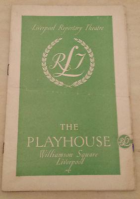 1948 Liverpool RepertoryTheatre: Charles Crichton Gladys Boot MRS DANE'S DEFENCE