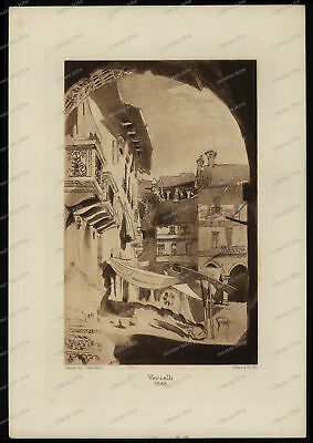 Druck-Stahlstich-Engraving-John-Ruskin-Vercelli-1846-Allen & Co-40