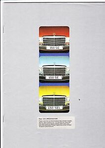 Mercedes-Benz-S-Class-350-450-SE-SEL-UK-Brochure-1973-mint
