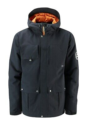 Westbeach Men's Domineer Snowboard Jacket, Black, Size Medium