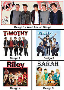 Personalised One Direction Mug - Any Name or Msg - Many Designs - Gift Idea - 1D