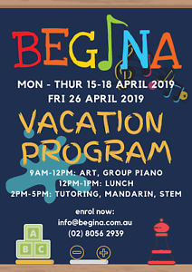 Begina April Vacation Program