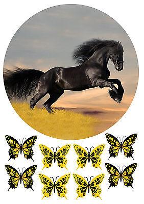 """Pferd ""3 Tortenaufleger,Geburtstag,Tortendeko"