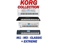 TRITON CLASSIC EXTREME SAMPLES WAV FILES M3 KORG M1 SXT REASON REFILL