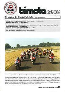 RIVISTA-ORIGINALE-BIMOTA-NEWS-NOVEMBRE-1996-ORIGINAL-MAGAZINE-BIMOTA-NEWS