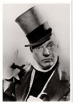W.C.Fields - B&W Photo - NEW; old stock (4.25 x 6 in. postcard). Out of print