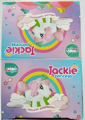 NEW Jackie Princess Chocolate Egg Toy Surprise 6 Count Free World Shipping  (Chocolate Egg Surprise)