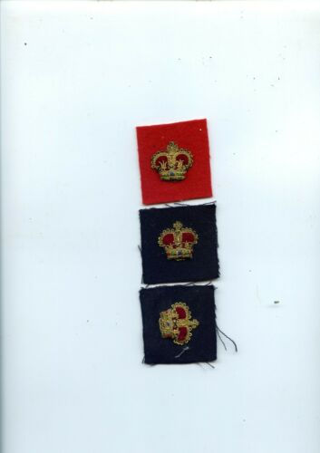 lot of rcmp rank crowns free shipping