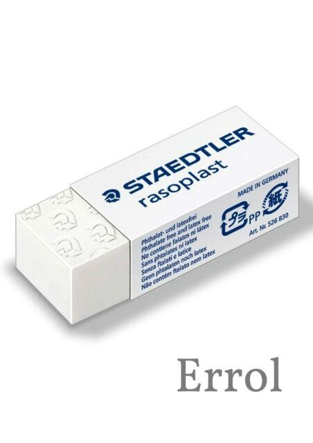 Staedtler Rasoplast Eraser. Excellent Erasing Performance. Choose Quantity.