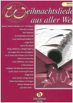 Weihnachtslieder aus aller Welt - Klarinette Solo oder Duett