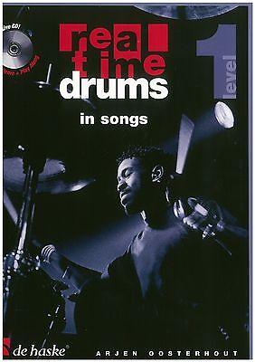 Arjen Oosterhout - Real time drums 1 - In Songs inkl. CD - Schule
