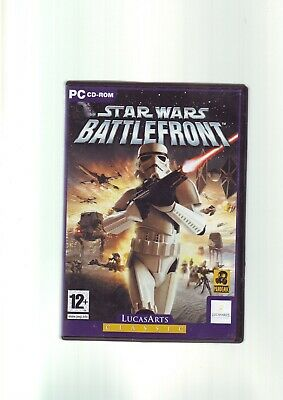 STAR WARS BATTLEFRONT 1 - PC GAME - FAST POST - ORIGINAL & COMPLETE - VGC