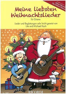 Koch - Meine liebsten Weihnachtslieder - für Gitarre - leicht