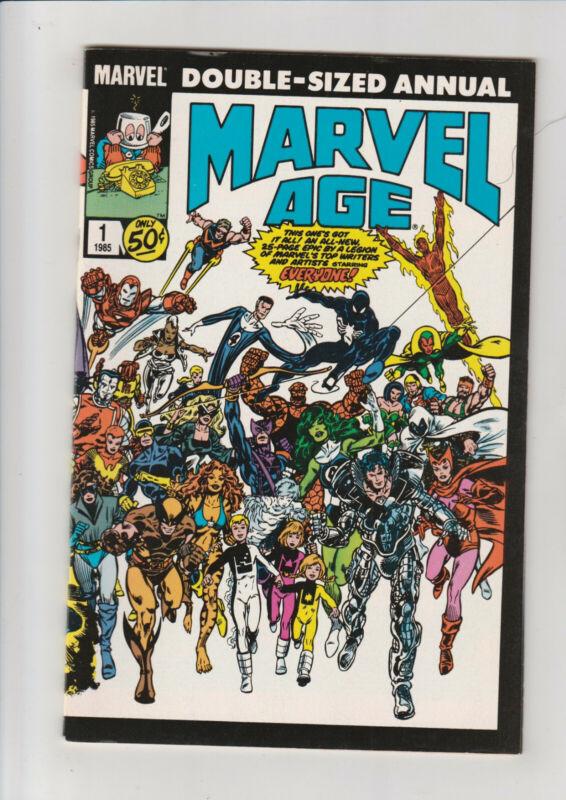 Marvel Age Annual #1 VF- 1985 comic