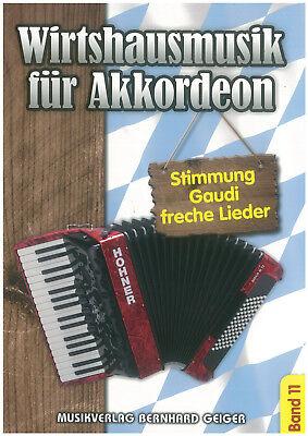 Wirtshausmusik für Akkordeon Band 11 - Noten - Akkordeon - SB 89