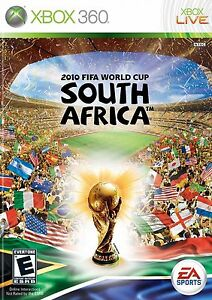 XBOX 360 *** 2010 FIFA World Cup: South Africa *** SEALED