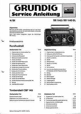 Service Manual-anleitung Für Nordmende Discocorder Rk 4186 Tv, Video & Audio 981.115 H