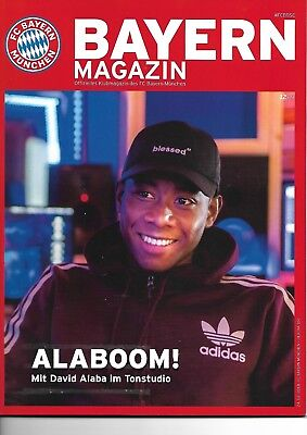 Bayern Magazin vom 24.02.2018 Offizielles Klubmagazin  FCB - HERTHA BSC