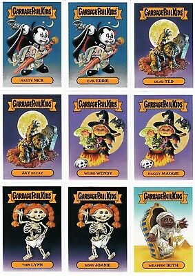 1c687bebfcf 2018 GARBAGE PAIL KIDS OH THE HORROR-IBLE CLASSIC MONSTER SET W FAT PK  WRAPPER
