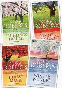 Nora Roberts, Frühlingsträume, Sommersehnsucht, Herbstmagie, Winterwunder
