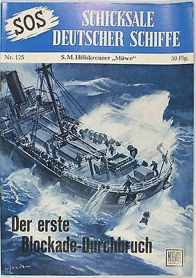 SOS Schicksale deutscher Schiffe Band 125 in Z1-2