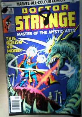 DR STRANGE 18 Marvel comic VG SEPT 1976 COLAN bronze age MORE: SAVE P&P