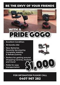 Mobility Scooter Pride GoGo
