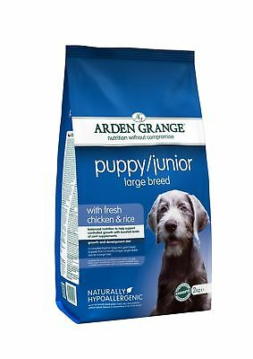 Arden Grange Chicken Puppy/Junior Large Breed Dog Food 2kg