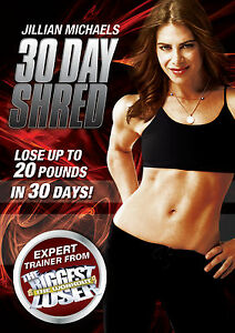 JILLIAN MICHAELS - 30 DAY SHRED (DVD) (New)