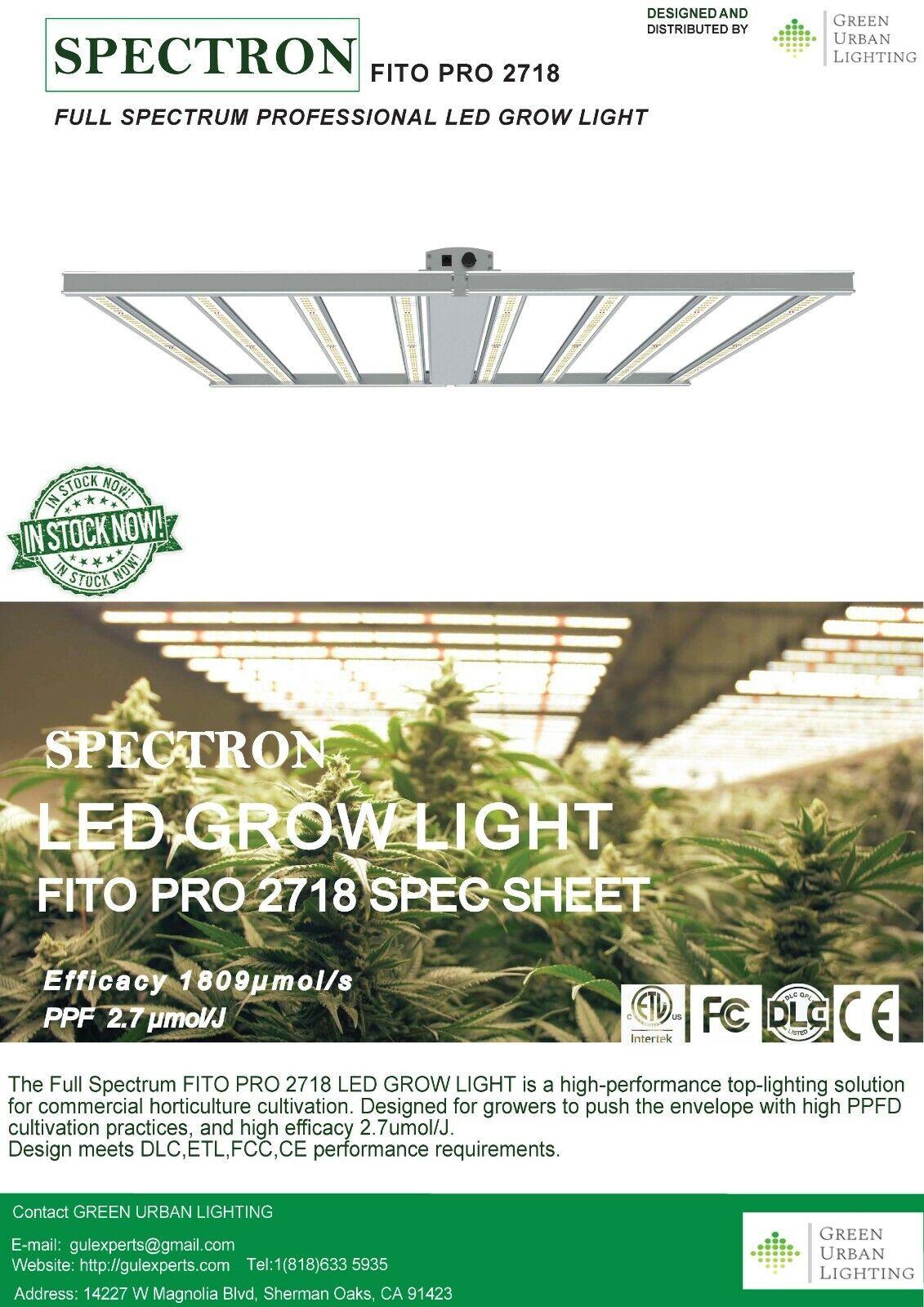 PROFFESIONAL LED GROW LIGHT - $550.00