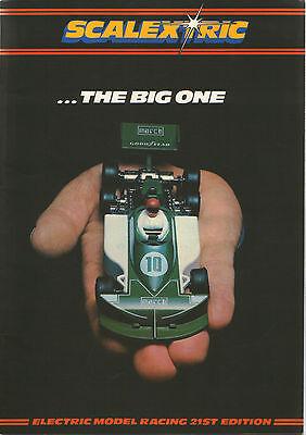 Scalextric catalogue 21st Edition 1980 March 771Ligier Tyrrell Escort Mexico