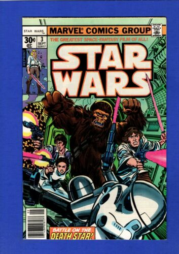 STAR WARS #3 NM 9.4 HIGH GRADE BRONZE AGE MARVEL (NEWSSTAND REPRINT)