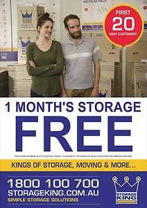 Storage King Kingston - Kings of Storage, Moving & More... Kingston Logan Area Preview