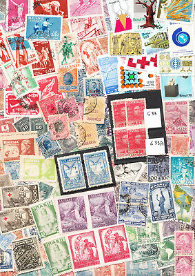 WW Unsorted lot - Mainly Brazil - Full scanner Page