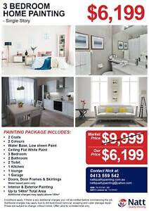 3 Bedroom House Painters from $399 - Drewvale