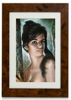 Tina Framed Print By  J. H. Lynch for sale  Shipping to Ireland