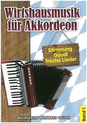 Wirtshausmusik für Akkordeon Band 1 - Noten - Akkordeon
