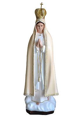 Madonna statue Di Fatima Cm 98