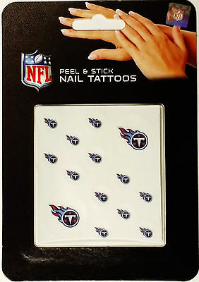 (Tennessee Titans  Peel & Stick Nail Tattoos)