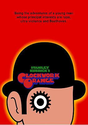 Art print POSTER / Canvas   A Clockwork Orange Movie