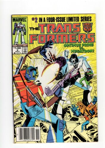 TRANSFORMERS #2 1984 CANADIAN PRICE VARIANT