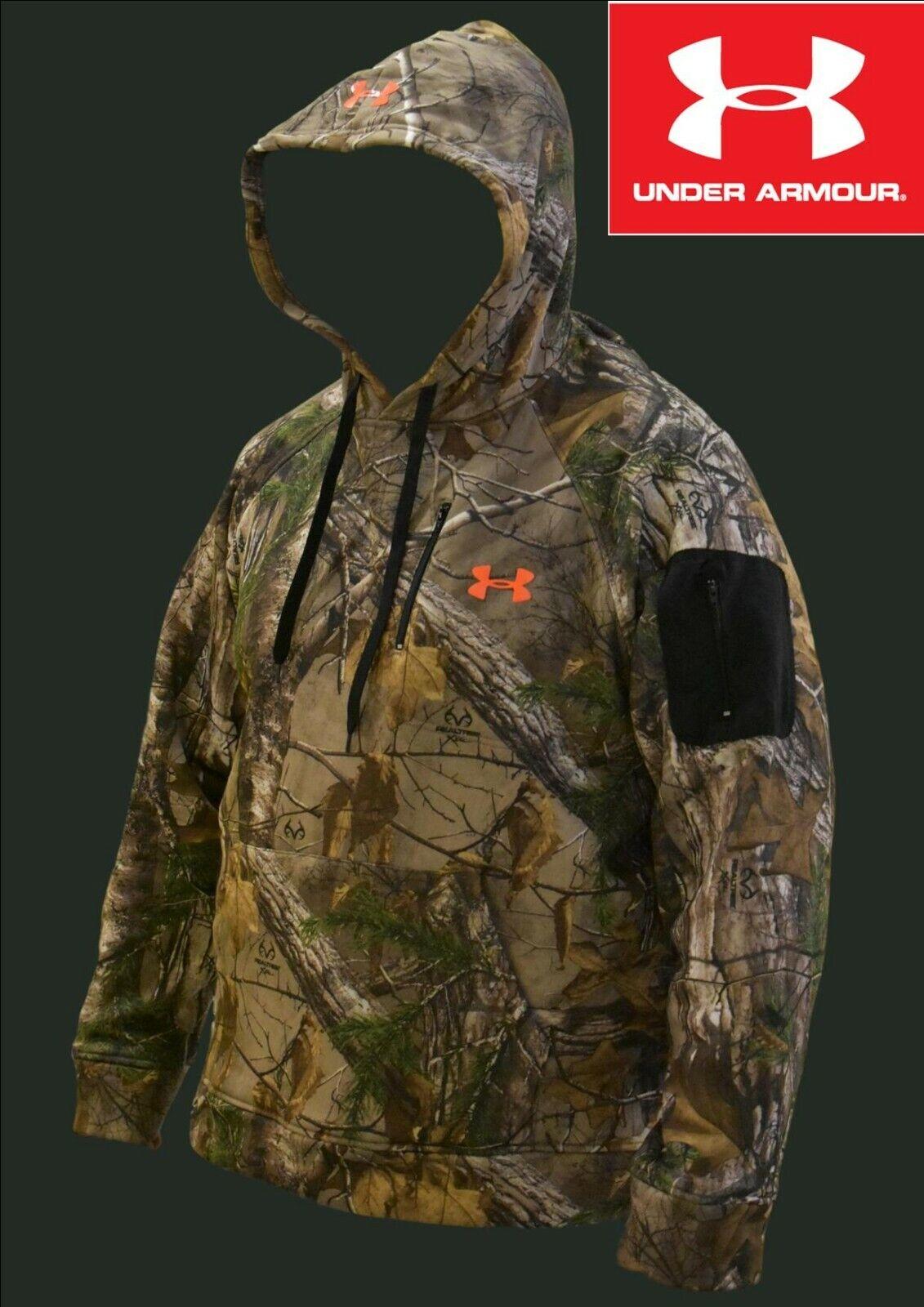 Under Armour Men/'s UA Microthread Elite Utility LS Hoodie Grey Large New