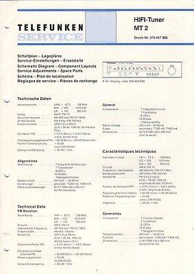 Telefunken Service Manual Schaltplan concertino hifi 301 B1454
