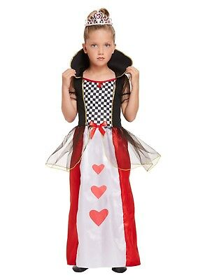 Children's Queen Of Hearts Fancy Dress Up Book - Queen Of Hearts Dress Up Kostüm