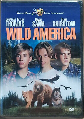 Wild America (DVD, 1997) FACTORY SEALED / CHAPTERS INSIDE / RARE