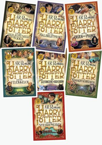 20 Jahre Harry Potter Jubiläumsausgabe Gesamtausgabe Joanne K. Rowling Hardcover