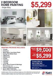 Richlands - 2 Bedroom House Painters from $399