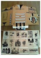 Gigi-bushis Samourais-mini-portfolio Cartoline Aedena-firmato E Numerato 425/700 -  - ebay.it
